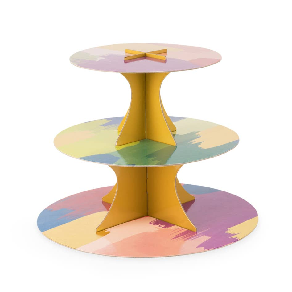 Watercolor Paper Cakestand Set
