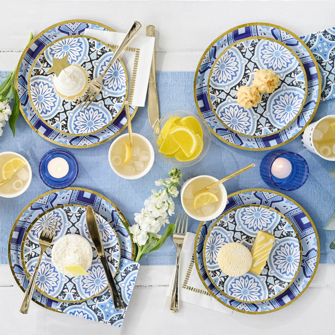 Amalfi Blues Large Plates (10)