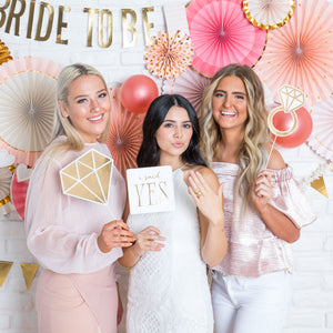 Bride to Be Paper Fans