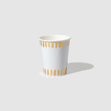 Load image into Gallery viewer, White Brushstroke Cups (10)