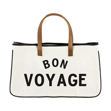 Load image into Gallery viewer, Bon Voyage Canvas Tote