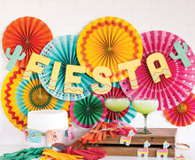 Load image into Gallery viewer, Fiesta Party Paper Fans