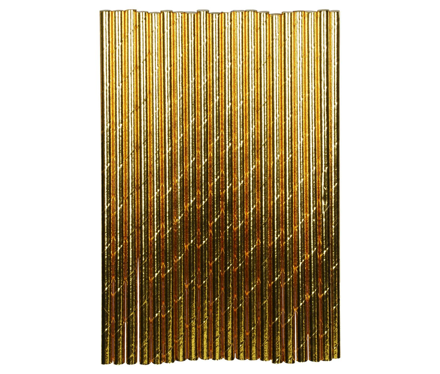 Gold Paper Straws (18)