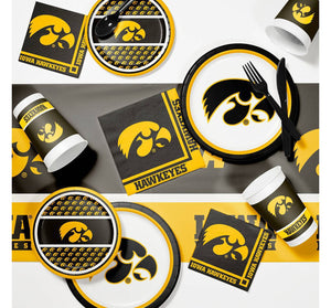 University of Iowa Appetizer/Dessert Plates (8)