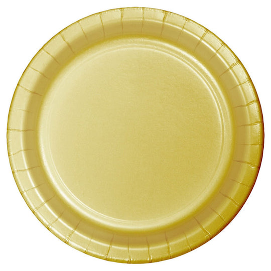 Gold Appetizer Plates 7
