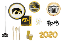 Load image into Gallery viewer, University of Iowa Grad Party in a Box