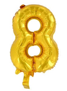 Foil Number Balloon 14 Inch