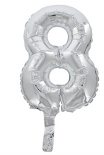 Load image into Gallery viewer, Foil Number Balloon 14 Inch