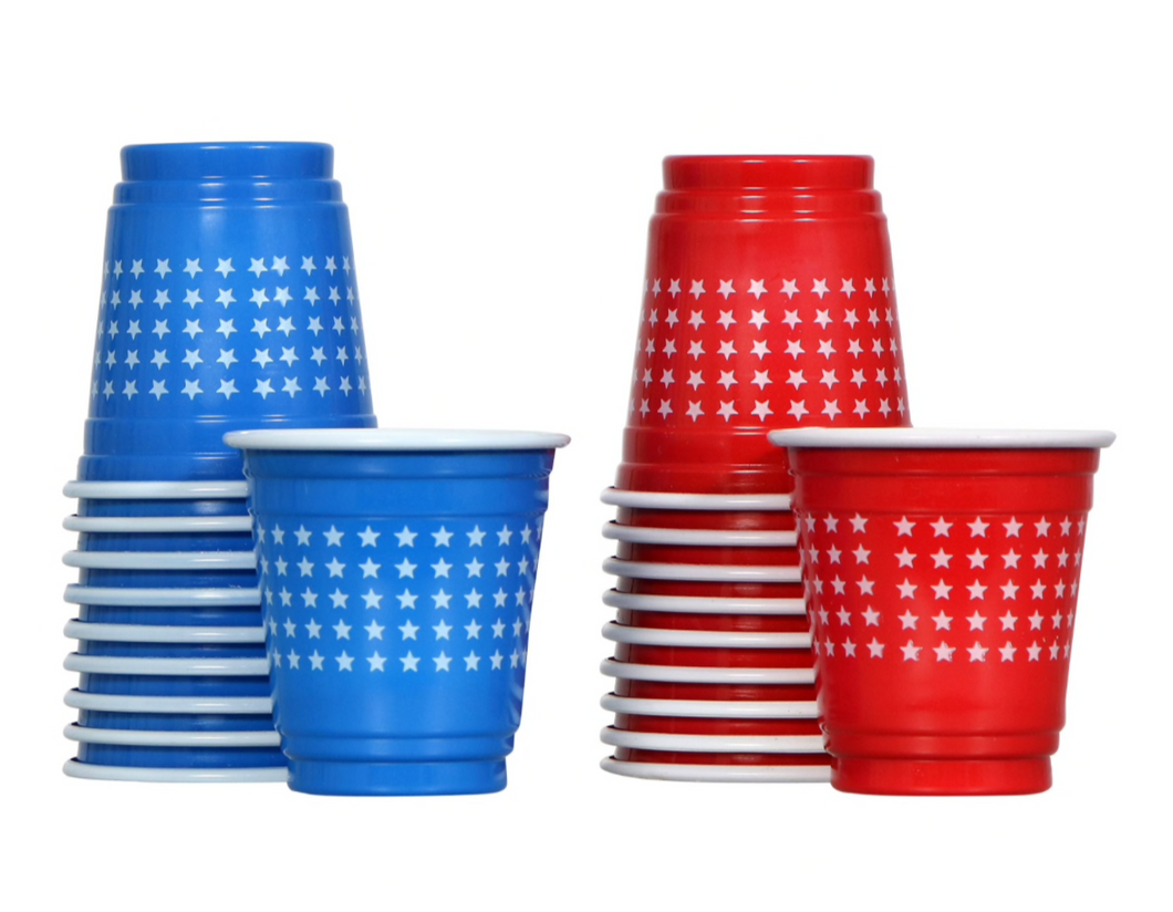 Patriot Mini Star Shot Glasses (24)