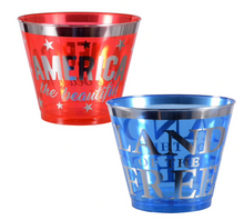 Load image into Gallery viewer, Patriotic Printed Tumblers (6)