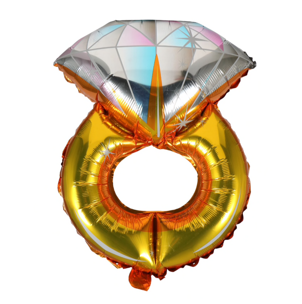 Diamond Ring Balloon, 22 in