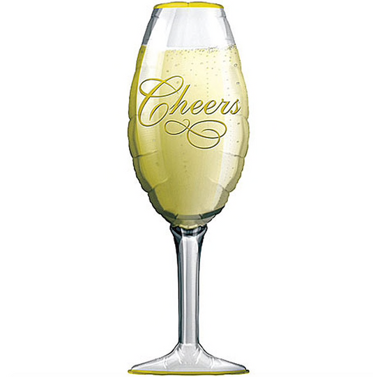 Champagne Glass Balloon 38