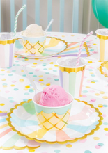 Load image into Gallery viewer, Ice Cream Party Treat Cups with Spoons (8)