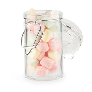 Mini Glass Clamp Favor Jars - 18 Pack
