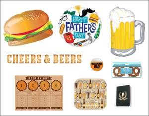 Father's Day Cheers & Beers Party in a Box