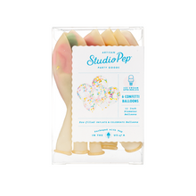 Load image into Gallery viewer, Ice Cream Sprinkles Confetti Balloons (Pack of 6)