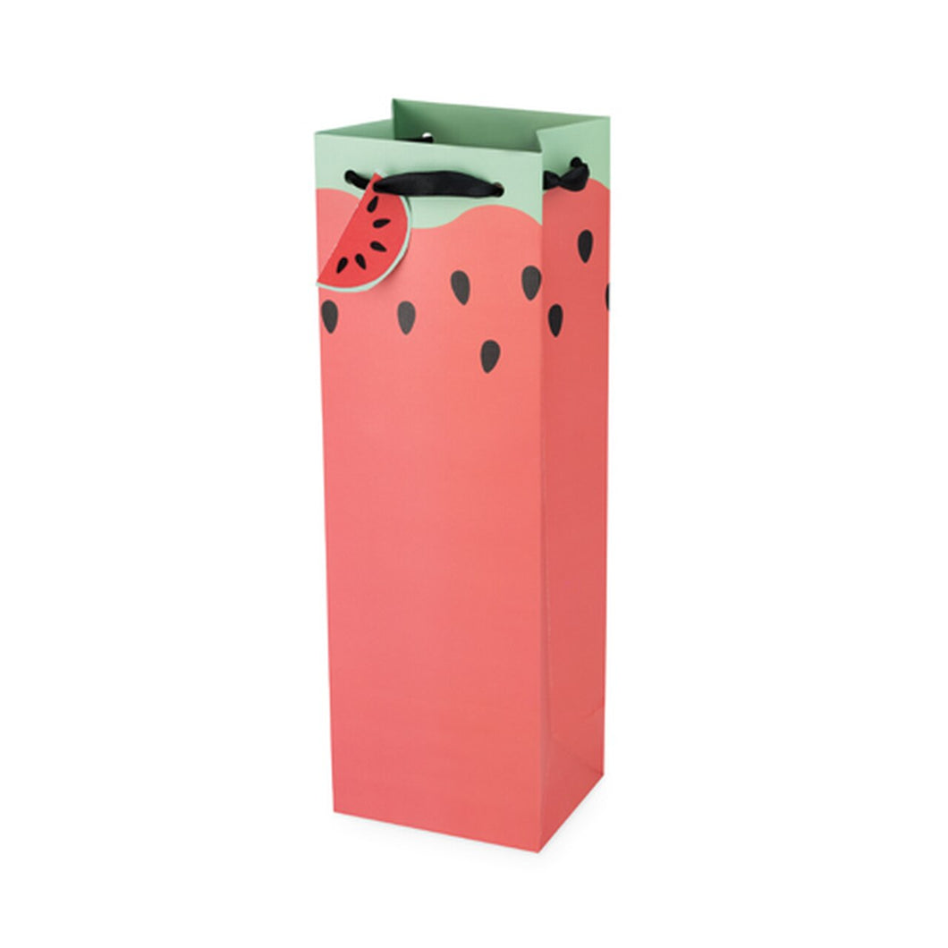 Watermelon Single Bottle Wine Bag
