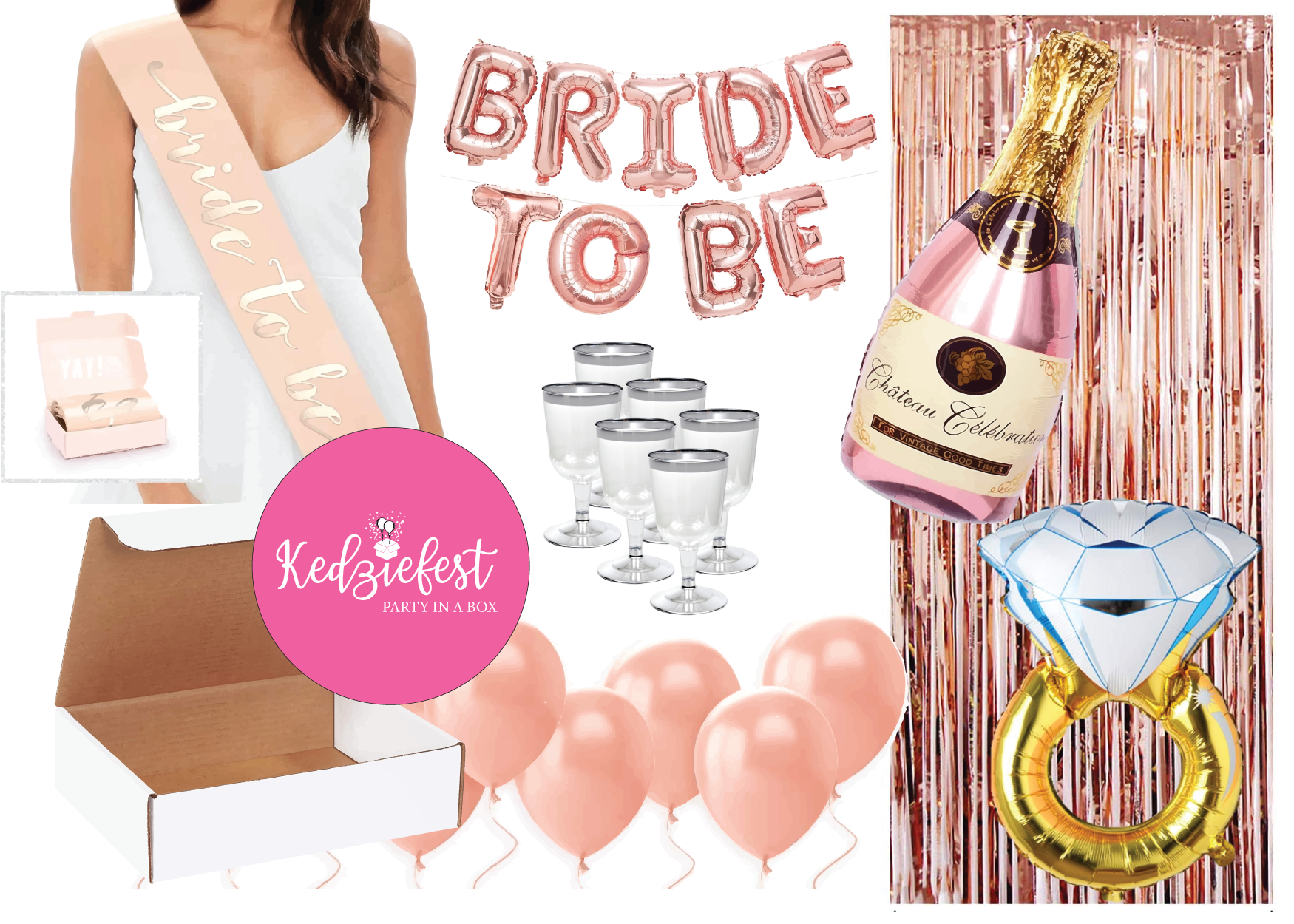 Bachelorette Party / Bridal Shower in a Box