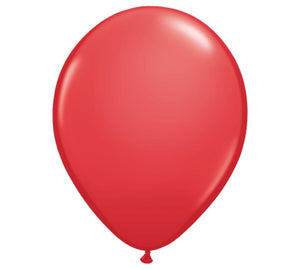 "Red 11"" Latex Balloon"