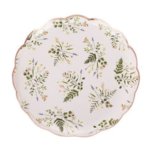 Load image into Gallery viewer, Floral Tea Party Paper Large Plates (8)