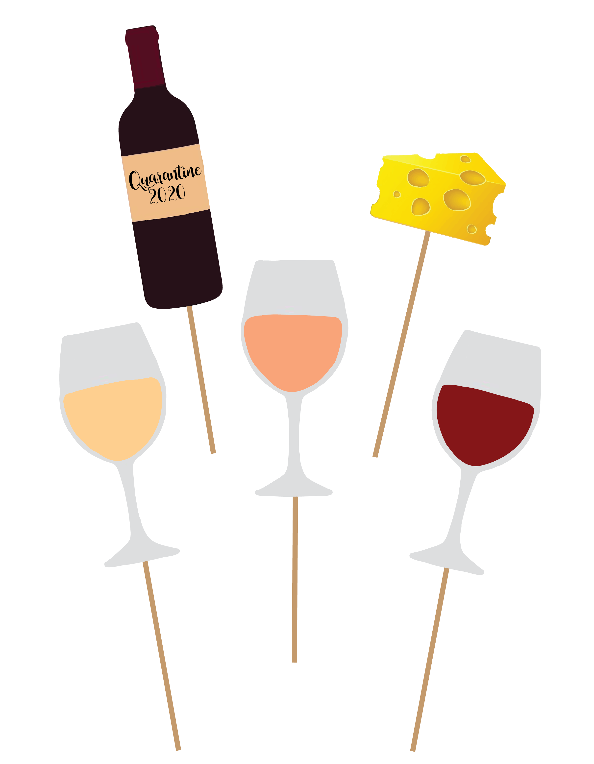 Virtual Happy Hour: Wine Party Pack