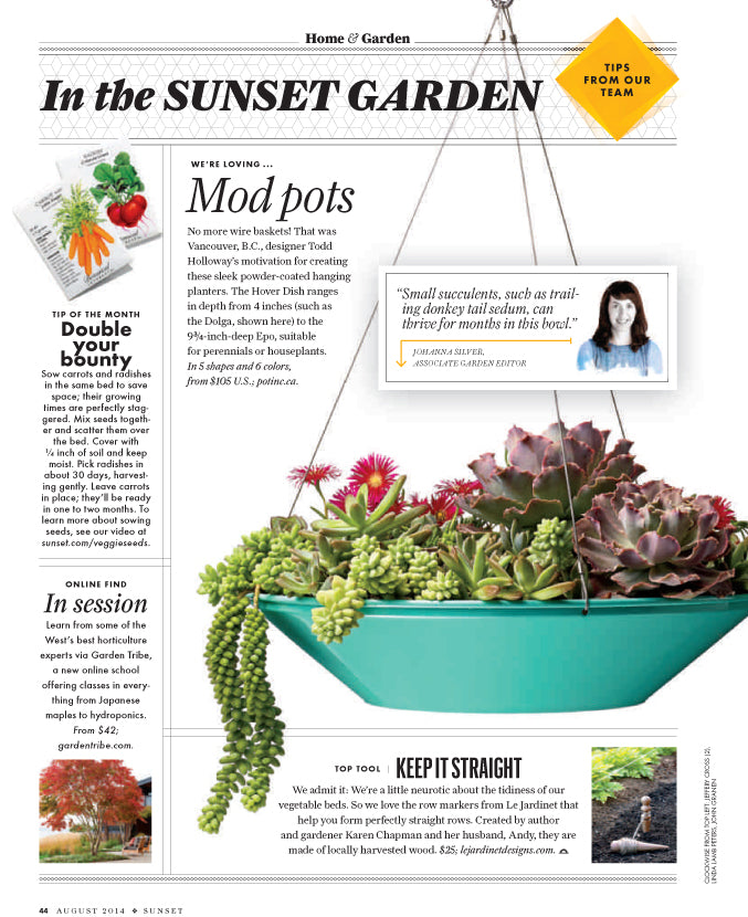 Pot Inc featured in Sunset Magazine
