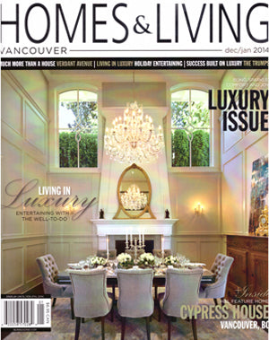 Pot inc featured in Homes & Living magazine