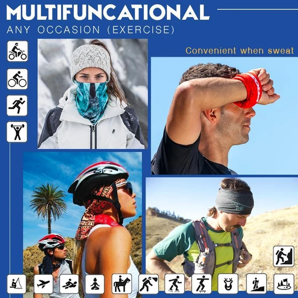Multifunctional Seamless Neck Gaiter