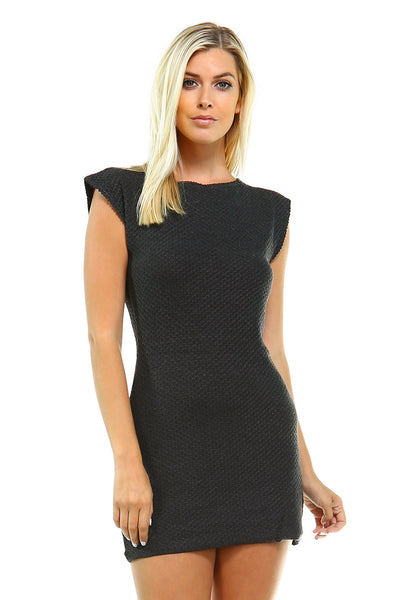 Women's Knit Sweater Dress - malaygauri