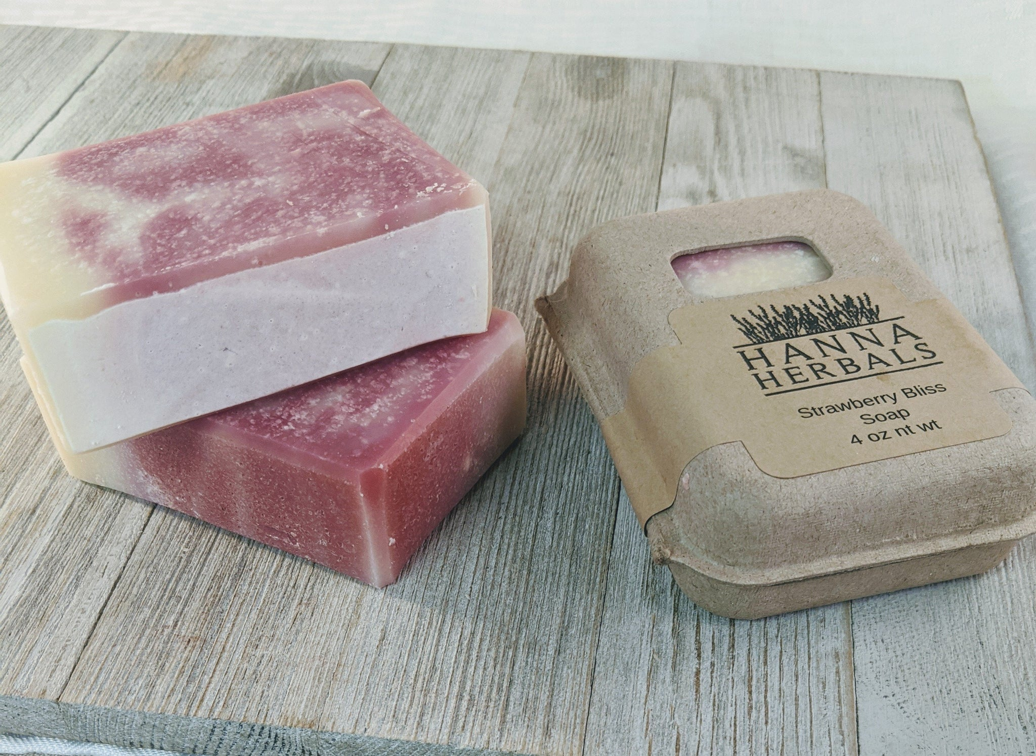 Strawberry Soap - malaygauri