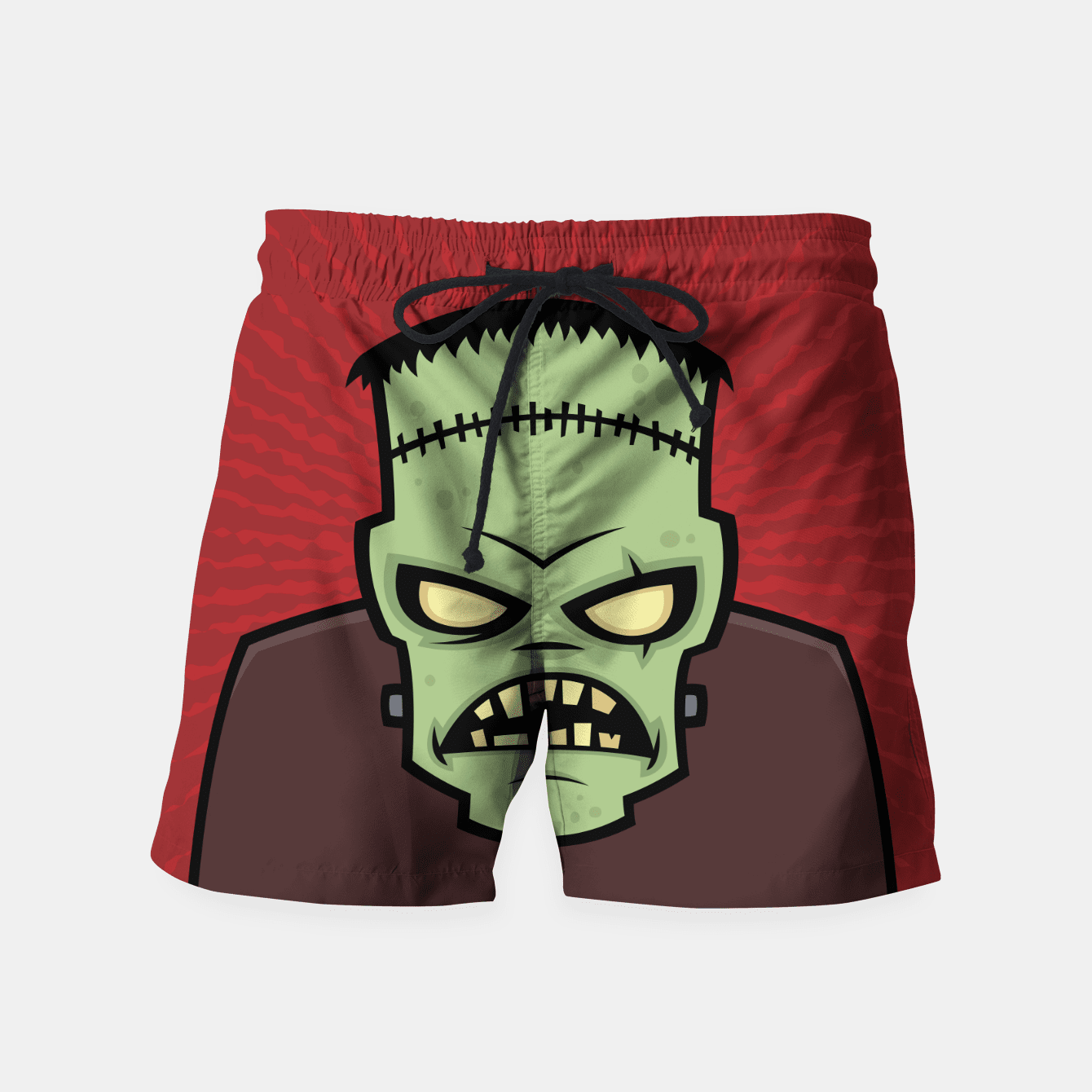 Frankenstein Monster Shorts - malaygauri