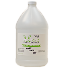 BUCKED Gallon Jug (128oz)