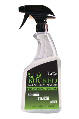 24oz BUCKED Scent Eliminator Spray Bottle