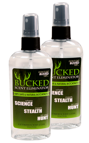 BUCKED Scent Eliminator SPORTSMAN Kit