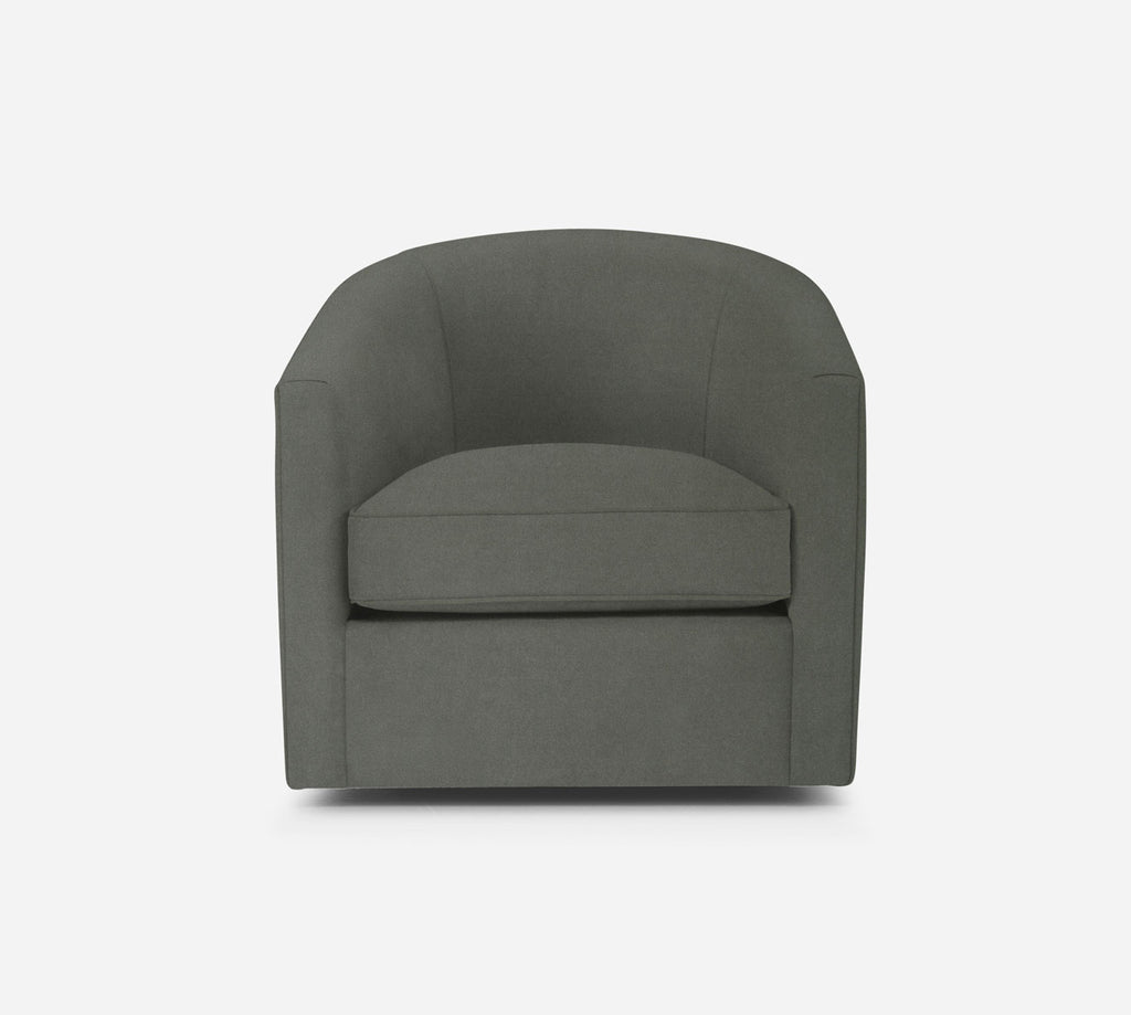 Barrel Swivel Chair - Modern Velvet - WILLOW