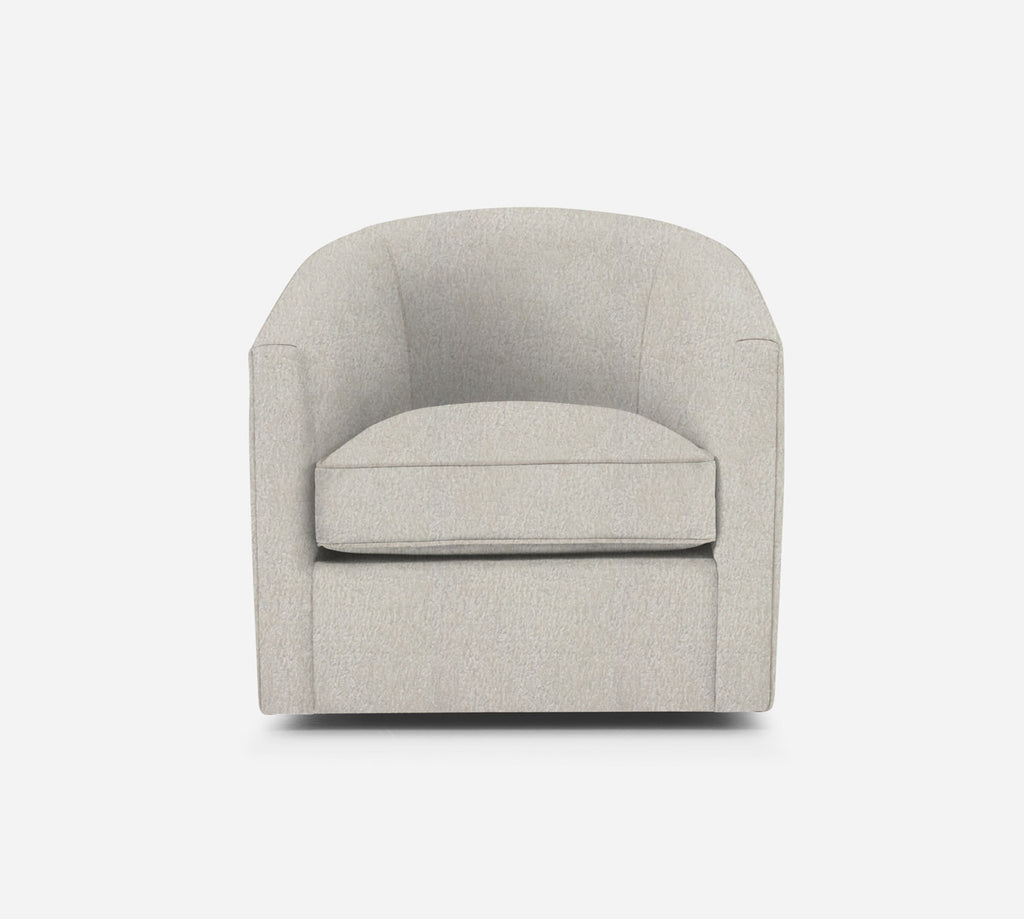 Barrel Swivel Chair - Sheepskin - NATURAL