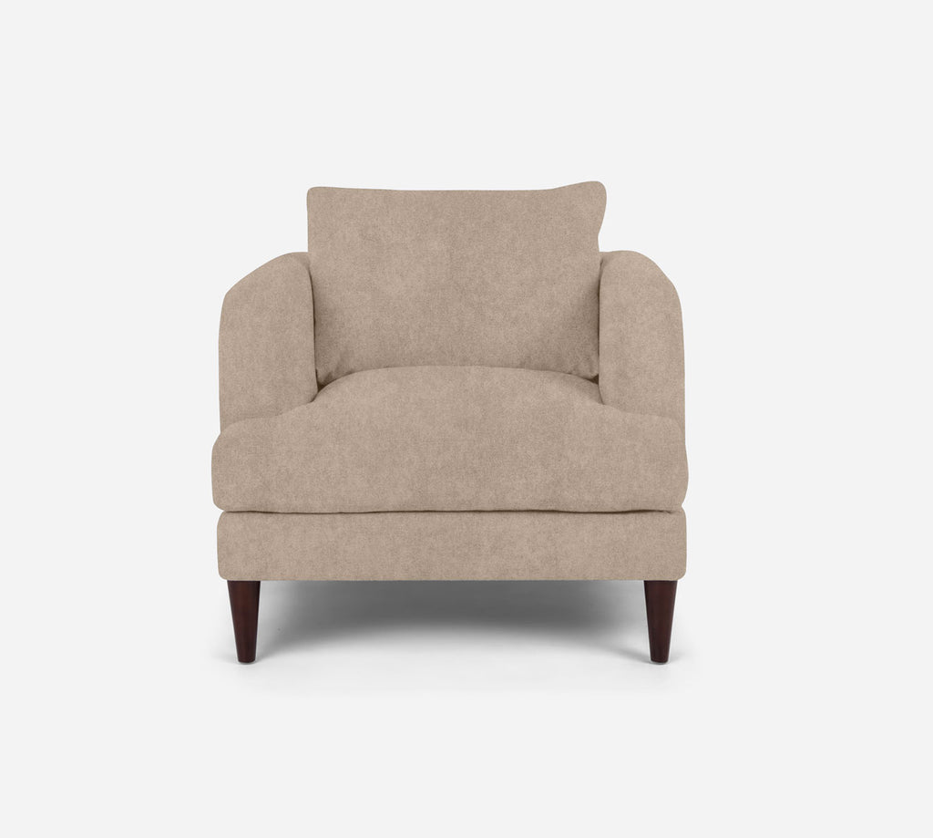 Cybil Chair - Passion Suede - Camel