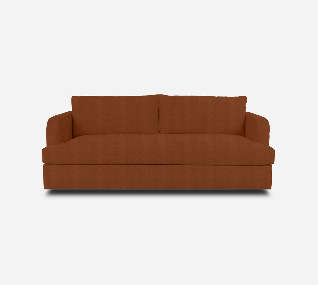 Cybil Sleeper Sofa - Passion Suede - Rust
