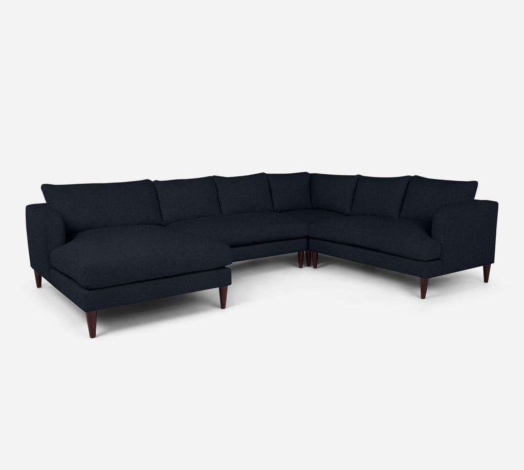 Cybil LAF Chaise Corner Sectional - Coastal - Sailor