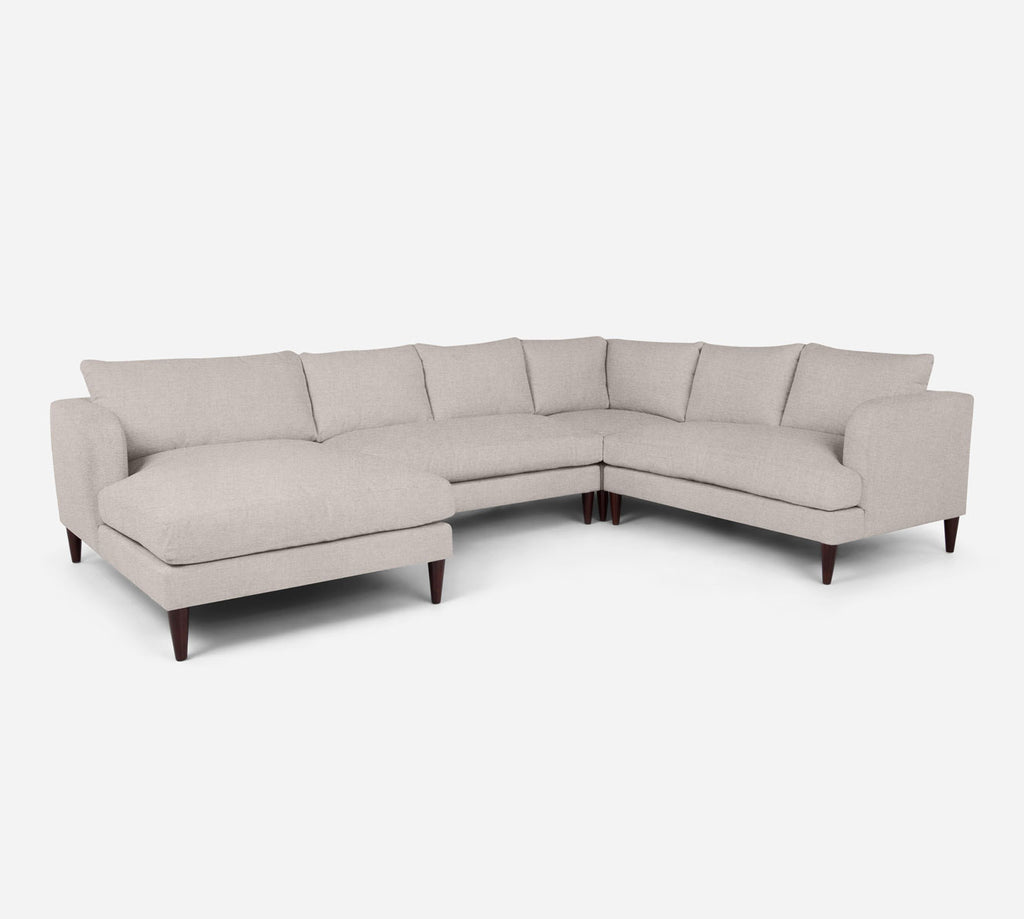 Cybil LAF Chaise Corner Sectional - Coastal - Sand
