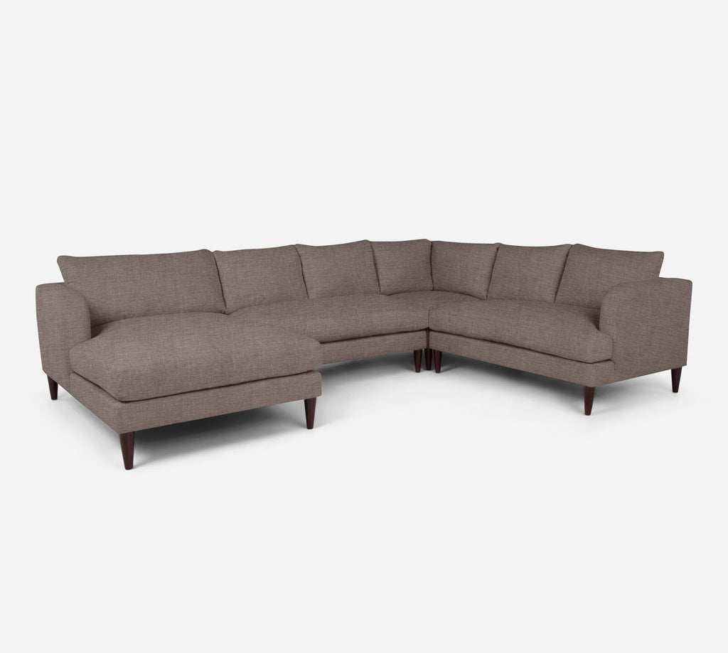 Cybil LAF Chaise Corner Sectional - Key Largo - Pumice