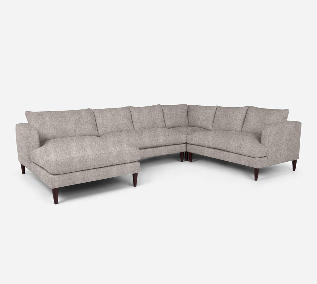 Cybil LAF Chaise Corner Sectional - Theron - Oyster
