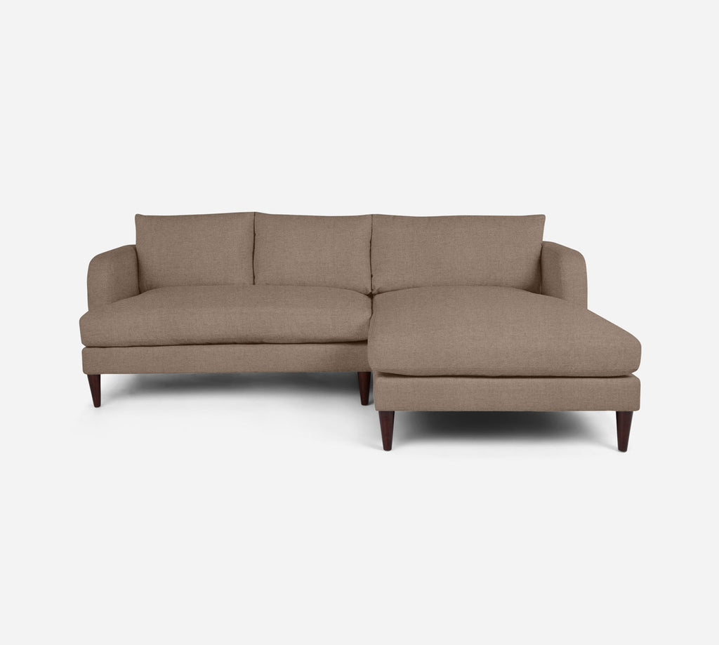 Cybil LAF Sectional Apt Sofa w/ Chaise - Coastal - Cashew