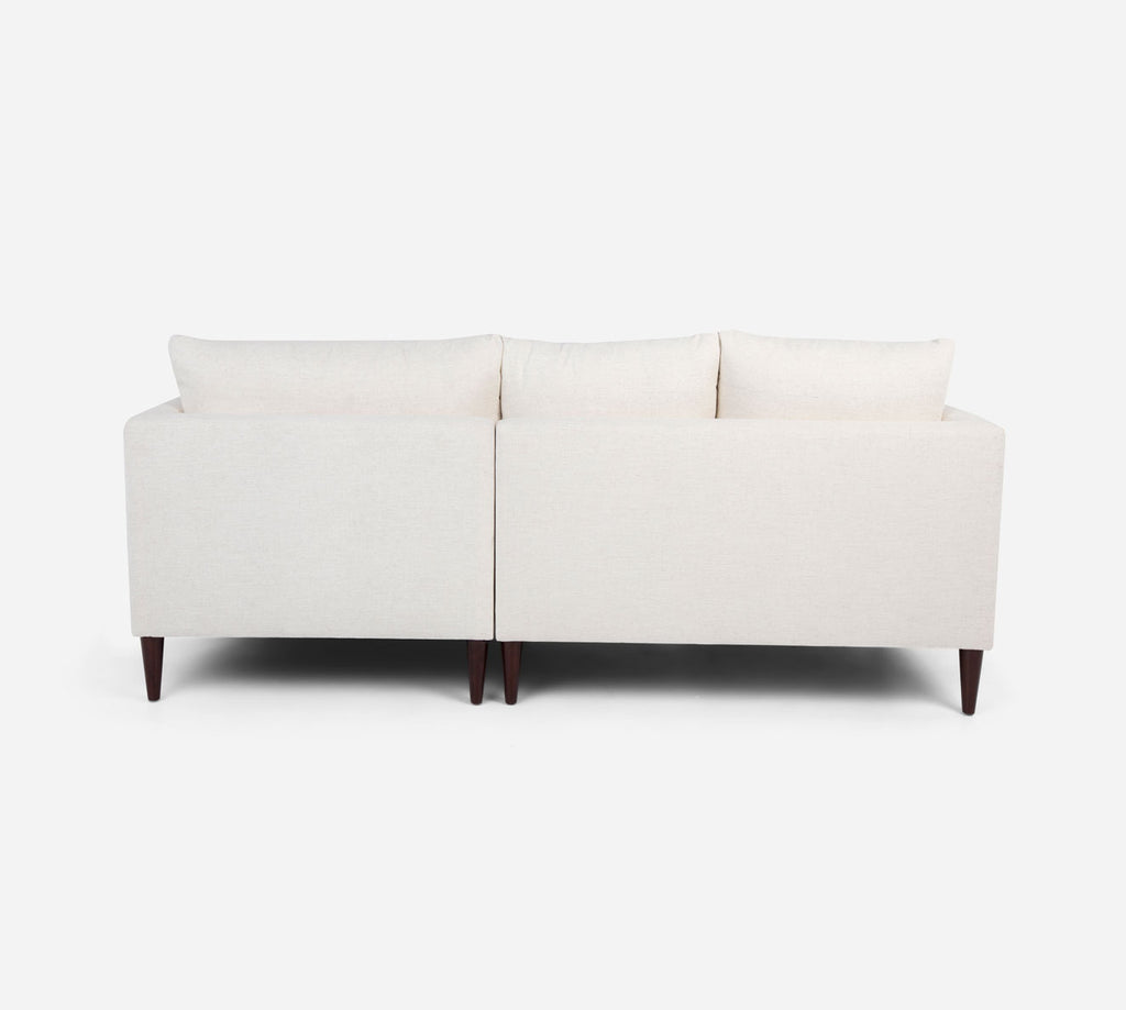 Cybil LAF Sectional Apt Sofa w/ Chaise - Heritage - Ivory