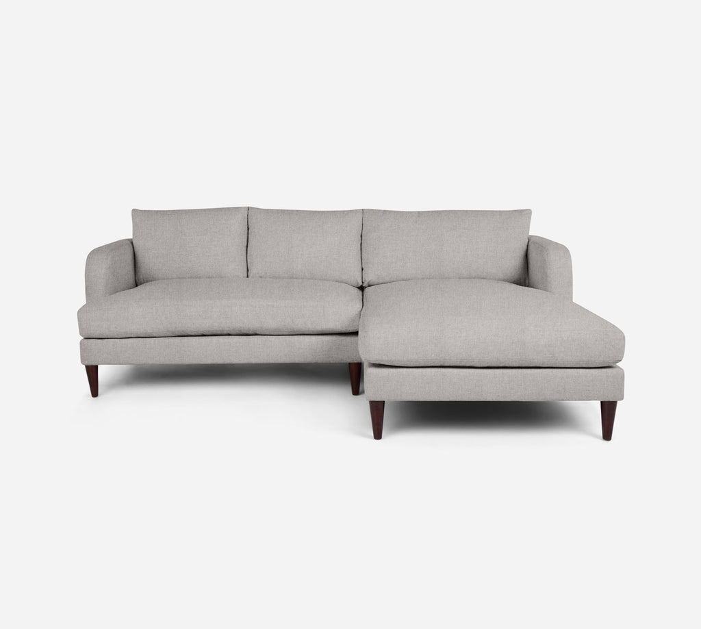 Cybil LAF Sectional Apt Sofa w/ Chaise - Kenley - Moondust