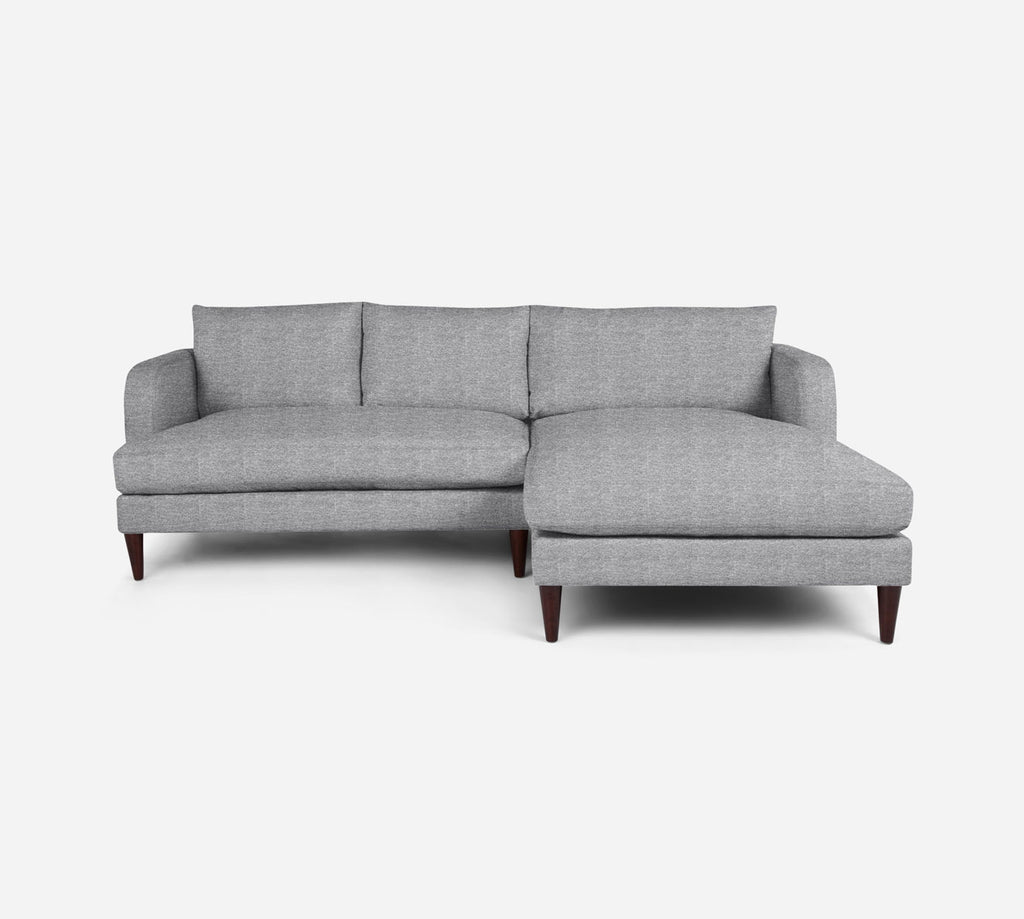Cybil LAF Sectional Apt Sofa w/ Chaise - Stardust - Domino