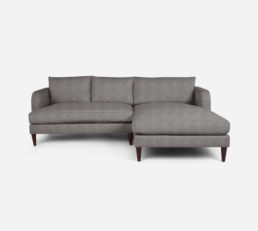 Cybil LAF Sectional Apt Sofa w/ Chaise - Stardust - Fossil