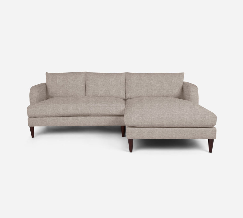 Cybil LAF Sectional Apt Sofa w/ Chaise - Stardust - Oatmeal