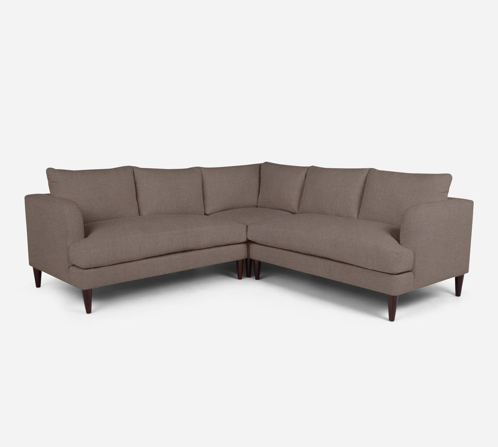 Cybil Corner Sectional - Heritage - Pebble