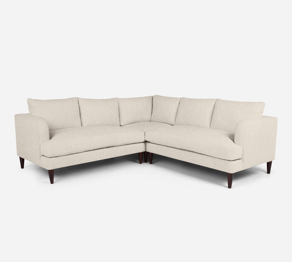 Cybil Corner Sectional - Kenley - Canvas